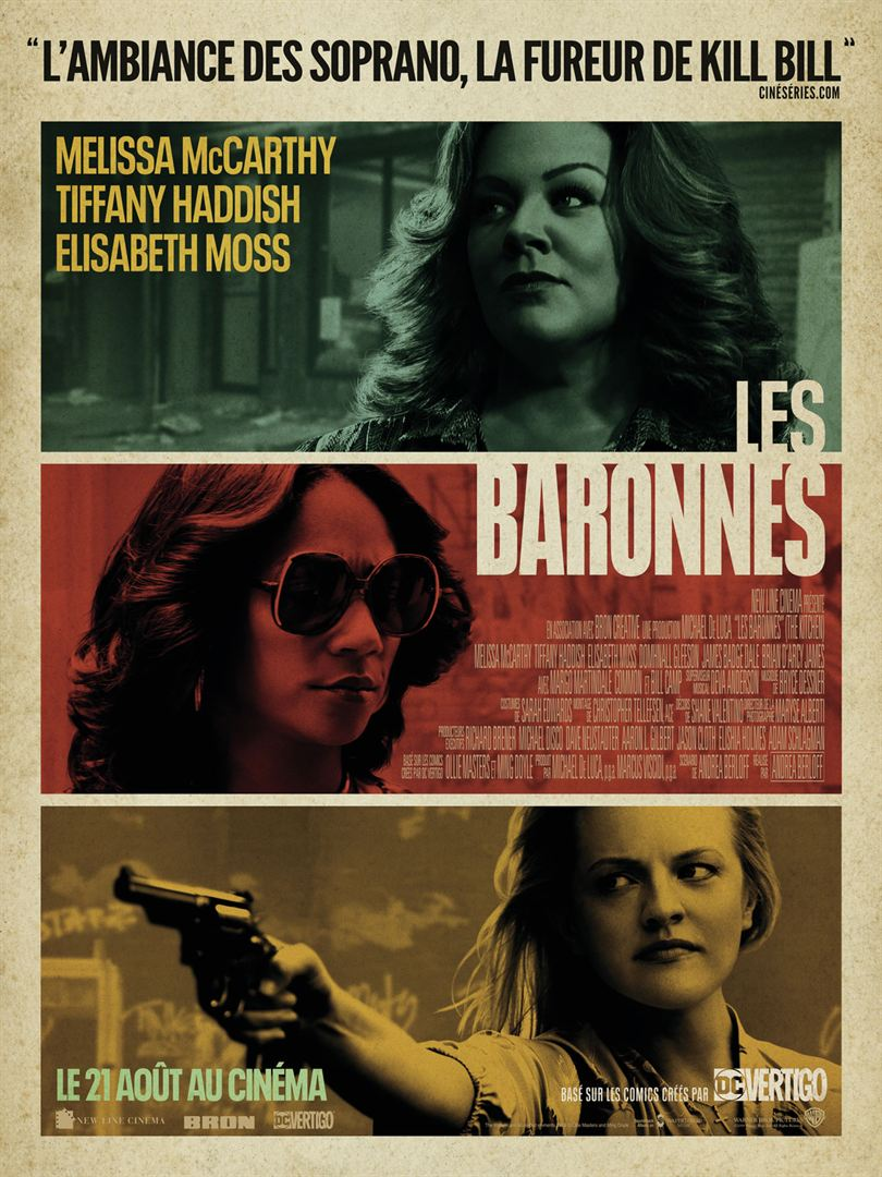 Les baronnes (The Kitchen - Queens of crime)